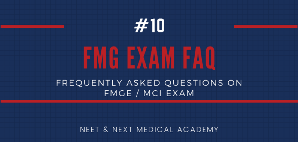 Frequently asked questions about FMGE