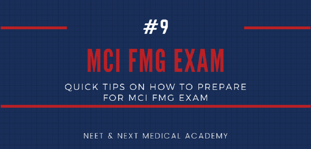 Quick Tips on How to Prepare for MCI FMG Exam